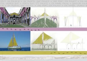el palacio y el velero