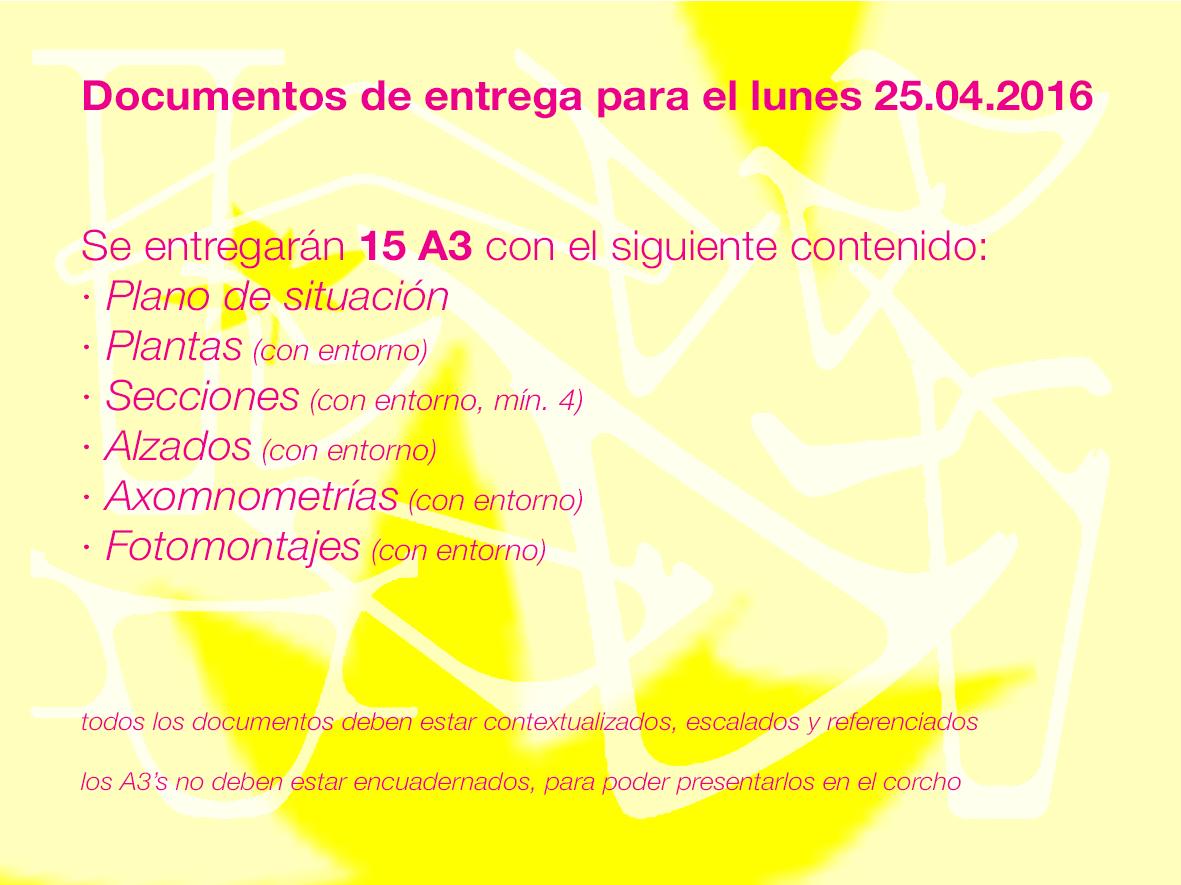 160420 Entrega