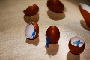Hasta los huevos