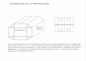 materiales de estructura