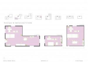 Prototipos de viviendas