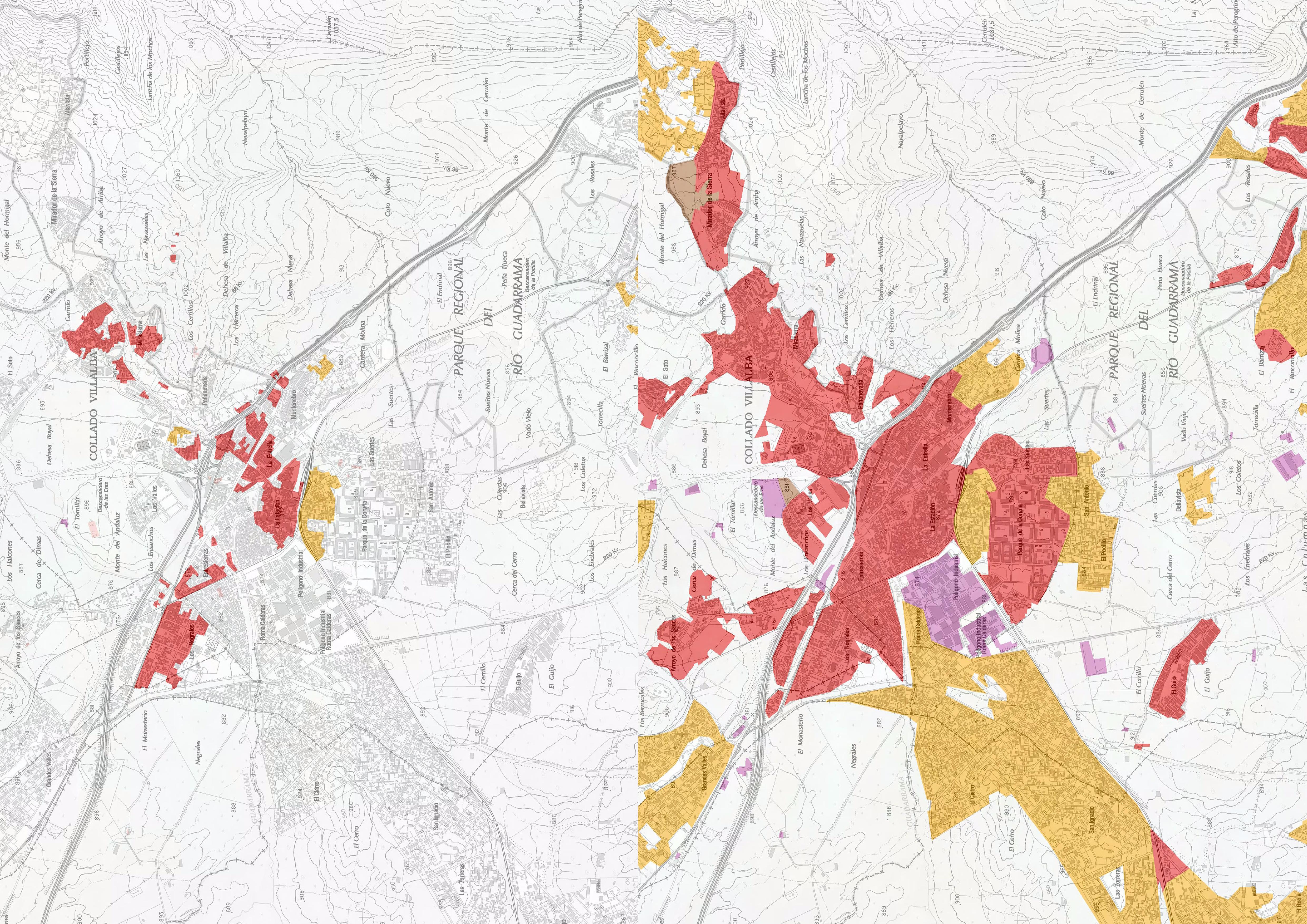 Mapa de comparacion