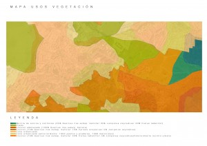 mapa usos vegetales
