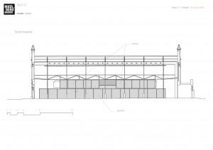 sección transversal