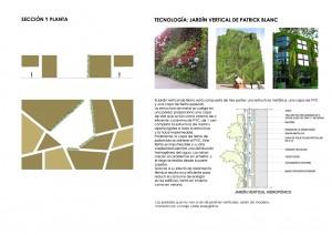 tecnologias seccion y planta jardin